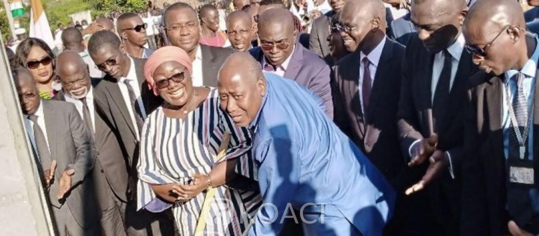 Côte d'Ivoire: Dans le Cavally, Amadou Gon a procédé au lancement des travaux d'extension du réseau électrique, 35.000 ménages concernés