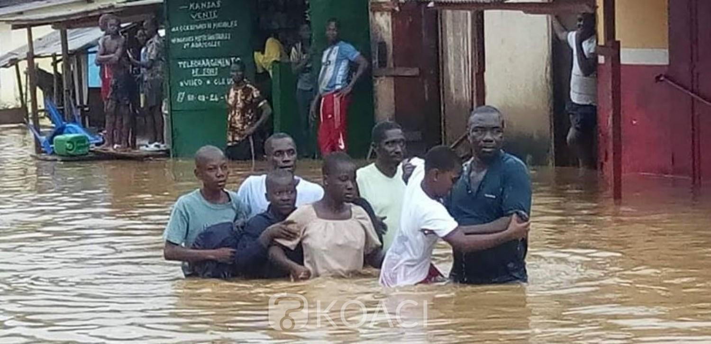 Côte d'Ivoire: Fortes pluies, à Ayamé, un enfant de 16 ans emporté par les inondations selon des témoins