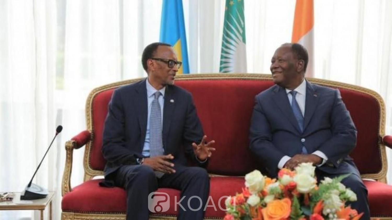 Côte d'Ivoire-Rwanda: Paul Kagamé à Abidjan pour débattre de la question de l'environnement des affaires