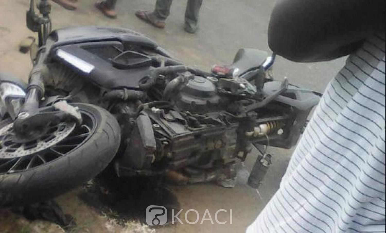 Côte d'Ivoire: Une enseignante à moto percutée par un véhicule,  son fils trouve la mort dans l'accident