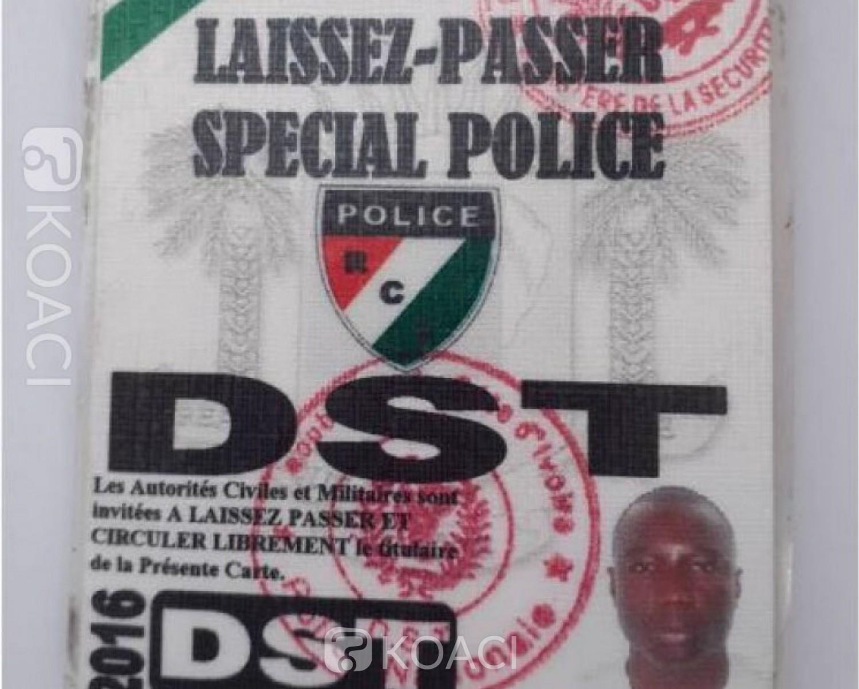 Côte d'Ivoire: Faux  « Laissez-Passer »,  la  police informe les populations qu'elle n'édicte aucun document de ce genre