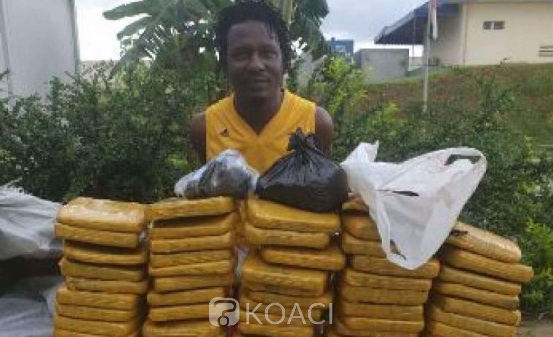 Côte d'Ivoire: Le dealer  Dembélé d'Attécoubé surpris à son domicile avec  80 blocs de cannabis