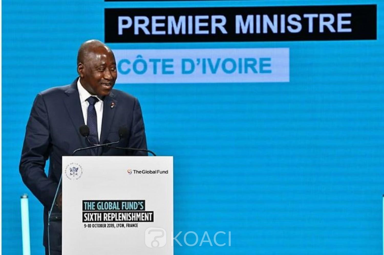 Côte d'Ivoire: Depuis la France, Gon annonce une contribution de 800 millions FCFA  dans la lutte contre le VIH-Sida, tuberculose et le paludisme