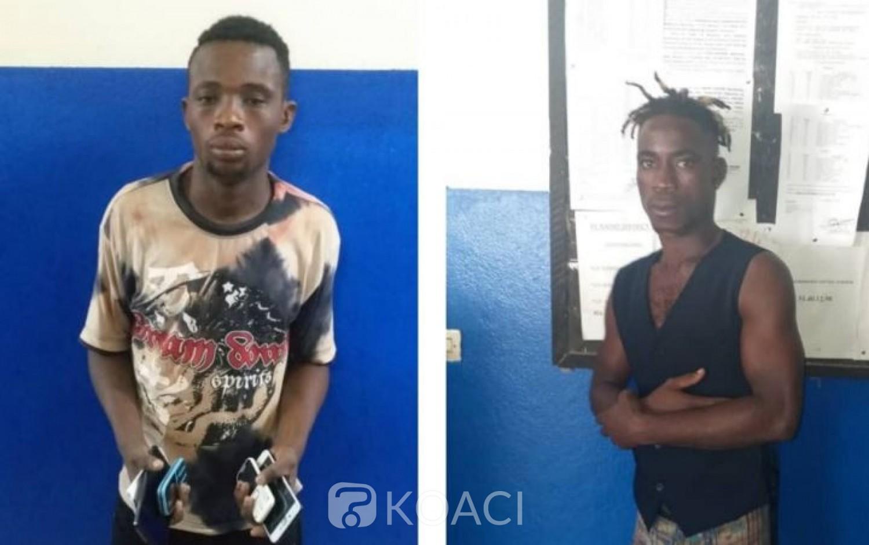 Côte d'Ivoire: Un mécanicien et un artiste-danseur pris en flagrant délit de vol
