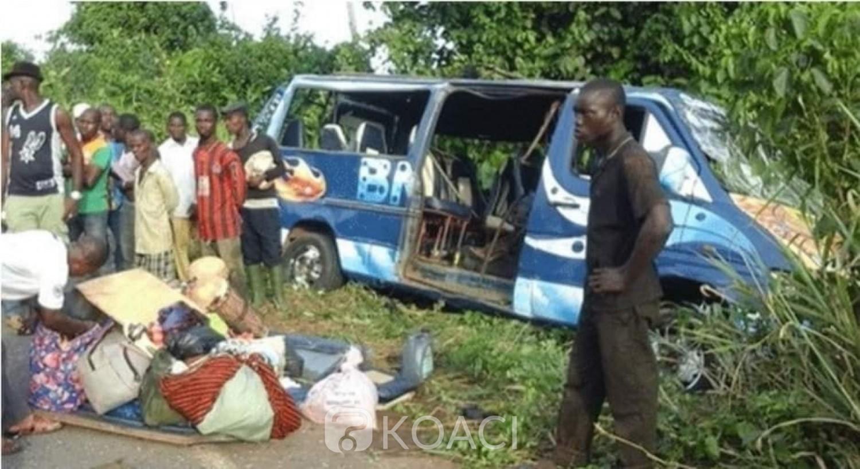 Côte d'Ivoire: Drame, à Abengourou, 16 personnes perdent la vie dans un grave accident de circulation