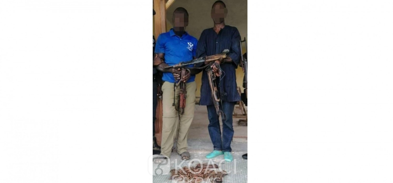Côte d'Ivoire: À Katiola, les assassins présumés d'un gendarme et d'un chinois arrêtés avec un arsenal de guerre