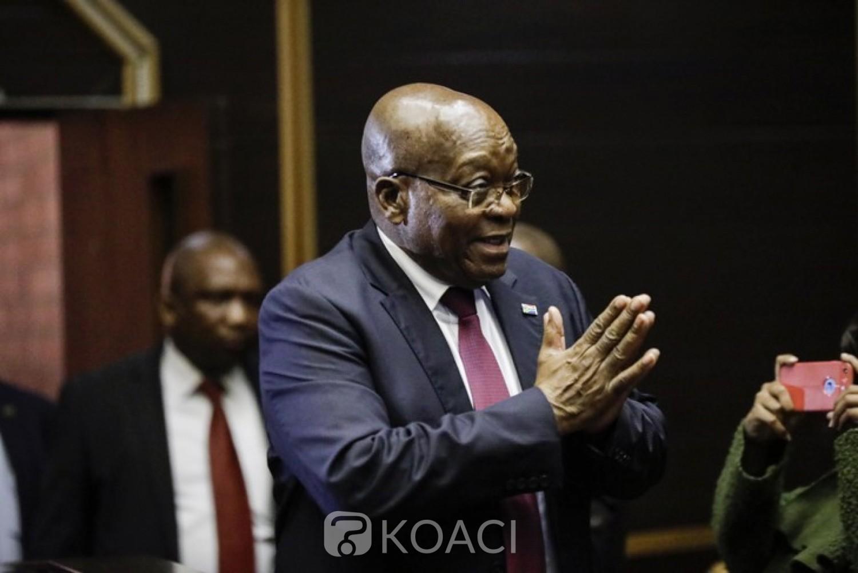 Afrique du Sud:   Poursuivi pour corruption, Zuma fait appel, son procès reporté