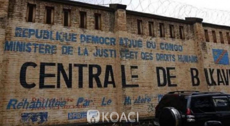 RDC: Faute de soins,   40 prisonniers meurent en 10 mois  à Bukavu