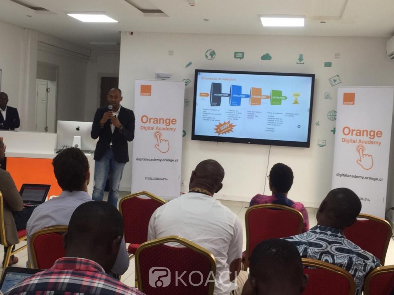 Côte d'Ivoire: Orange Digital Academy, les premiers formés présentent leurs travaux