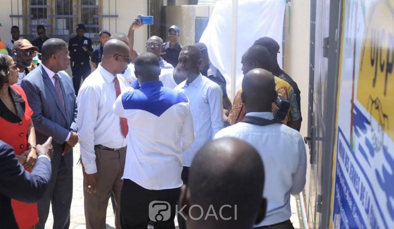Cote d'Ivoire: A Port-Bouët, le siège de la jeunesse communale anciennement dans un état délabré a fait peau neuve