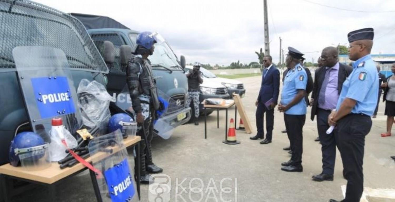 Cote d'Ivoire: L'école de police dotée de véhicules d'interventions et du matériel  dans le cadre d'un partenariat avec le PNUD