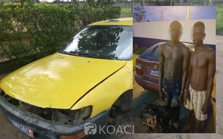 Côte d'Ivoire:  Ils dépiéçaient les véhicules en stationnement