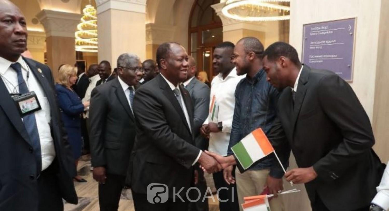 Côte d'Ivoire: Ouattara en Russie, c'est la toute première visite d'un Chef d'Etat ivoirien dans ce pays