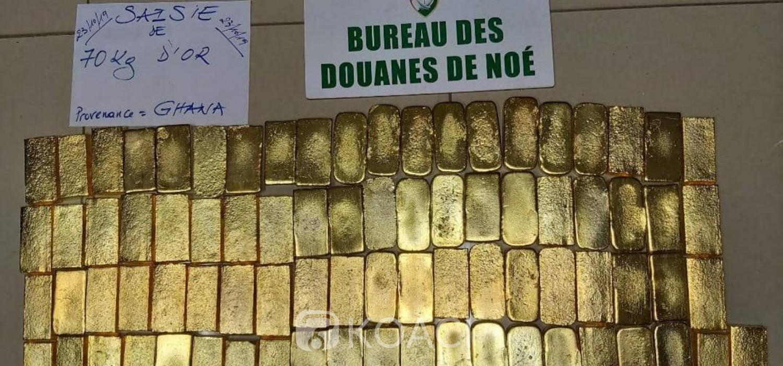 Côte d'Ivoire: Grace à un scanner, 70 Kg d'or saisis à la frontière ghanéenne