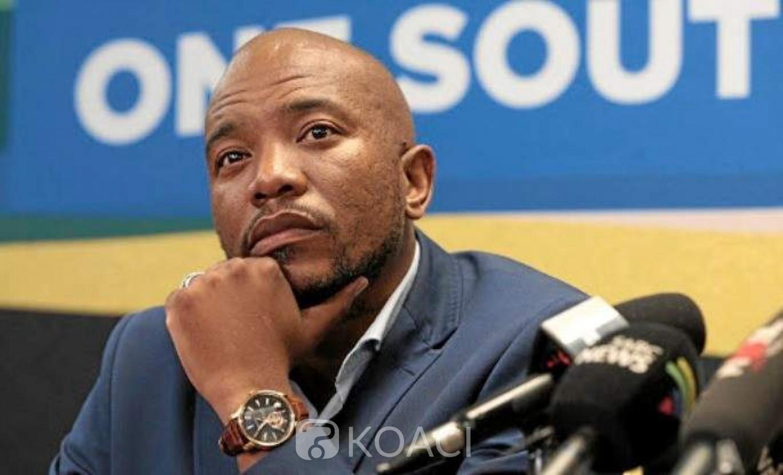 Afrique du Sud: Le leader de l'opposition claque la porte de son parti après sa démission