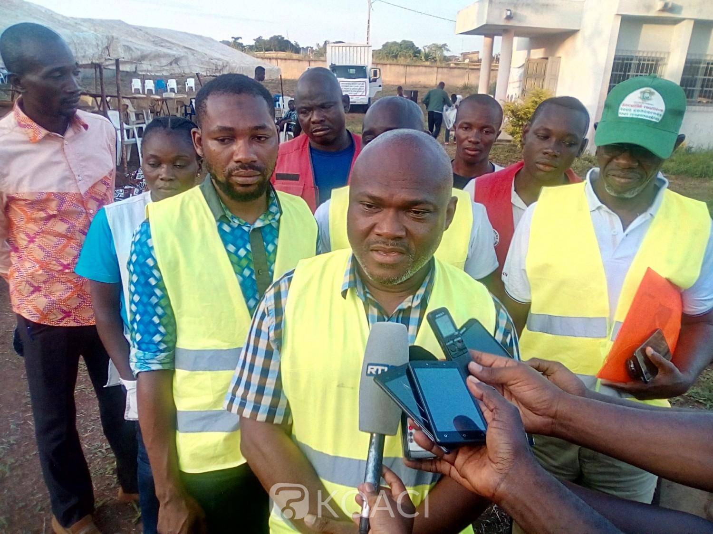 Côte d'Ivoire : Après l'étape de port du casque dans le Gbêkê, les engins à deux et trois roues soumis à la visite technique