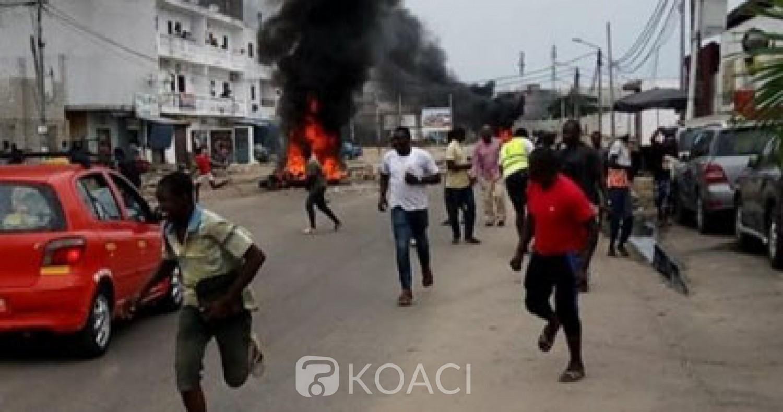 Côte d'Ivoire: Vive tension à Koumassi suite à une opération de deguerpissement, affrontements  entre ferrailleurs et policiers