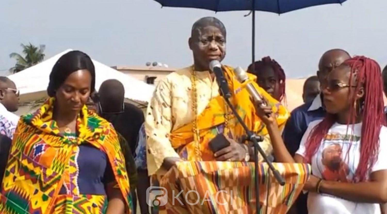 Côte d'Ivoire: A Adzopé, Emmanuel Monnet exprime toute sa gratitude à Ouattara et plaide pour la libération de Roger Dakoury