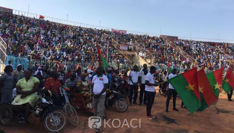 Burkina Faso: Manifestation en soutien aux forces de l'ordre et des victimes du terrorisme