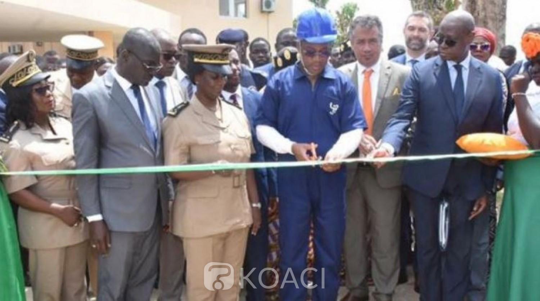 Côte d'Ivoire: Lycée Professionnel de Jacqueville, les bâtiments réhabilités et équipés par L'UE