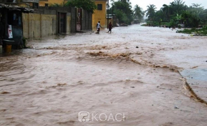 Centrafrique: L'Oubangui déborde après de fortes pluies,  28.000 sans abris