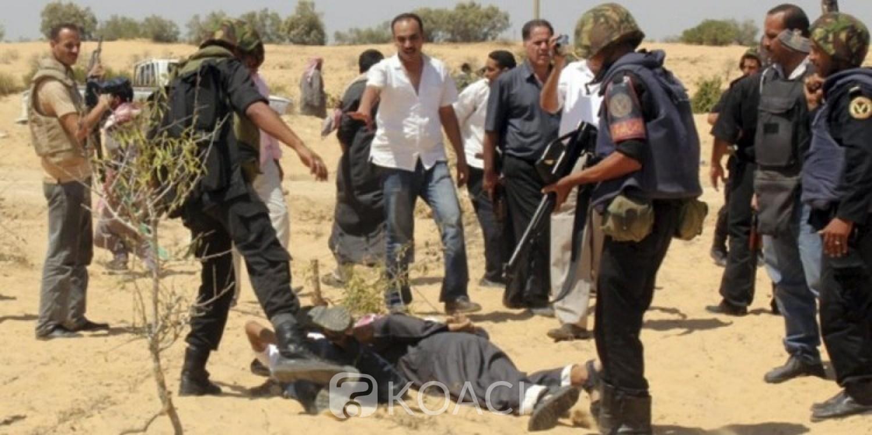 Egypte: Sinaï, 13 jihadistes présumés éliminés lors d'une opération de police