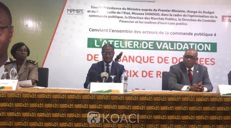 Côte d'Ivoire: A Grand-Bassam, à l'atelier de validation des prix de référence, Moussa Sanogo précise que c'est un outil pour l'Etat de mieux gérer ses finances publiques