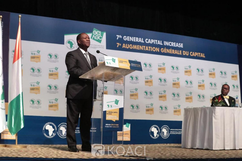 Côte d'ivoire: Session extraordinaire du conseil des gouverneurs sur l'augmentation du capital général de la BAD, Ouattara souhaite une hausse de 125%