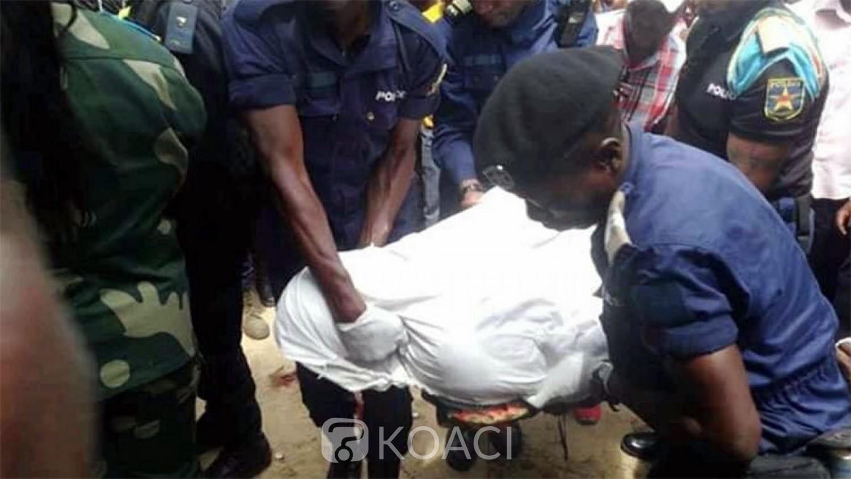 RDC: Bavure policière, un ministre provincial interpellé après le meurtre d'un responsable de santé