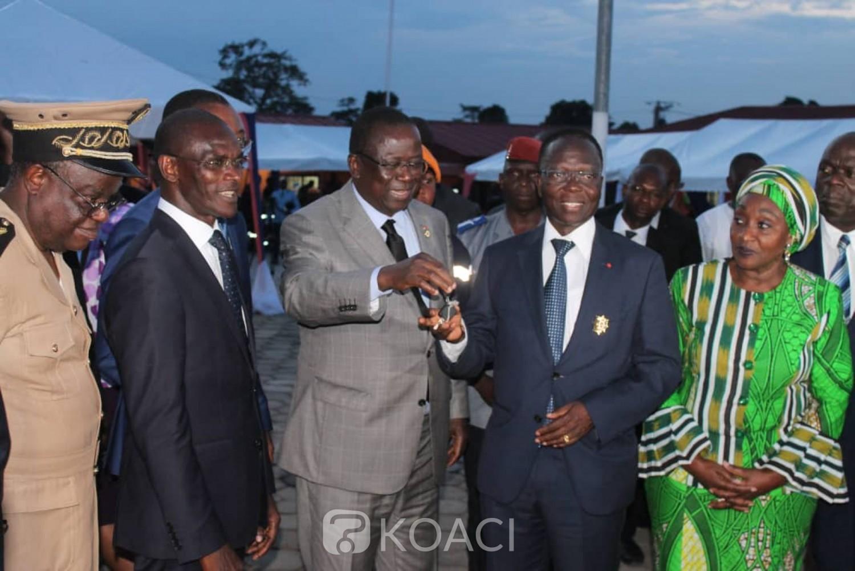 Côte d'Ivoire :  Inondations, depuis Toumodi, Vagondo invite ses compatriotes au respect des mesures en vigueur pour éviter les drames