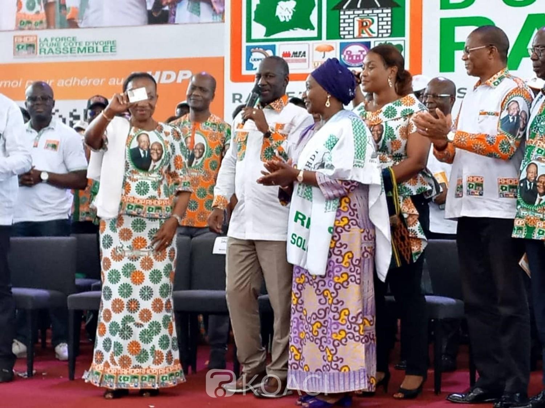 Côte d'Ivoire: 2020, le RHDP lance sa plateforme d'adhésion des militants et promet qu'elle sera un forum d'écoute et d'échange