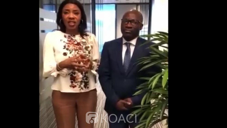 Côte d'Ivoire: Blé reçoit à la Haye Affoussiata Bamba, porteuse d'un message de Guillaume Soro