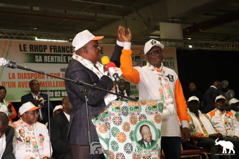 Côte d'Ivoire: France, des militants PDCI-RDA dénoncent l'utilisation du logo de leur formation politique par le RHDP