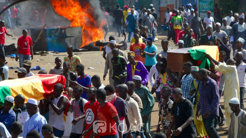 Guinée: Conakry, un mort et plusieurs blessés par balles lors d'une marche funèbre