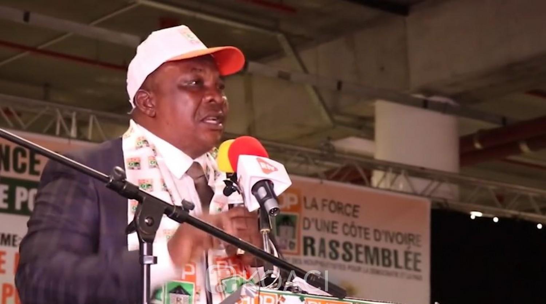 Côte d'Ivoire : 2020, avec ou sans Ouattara candidat, pour Adjoumani c'est une victoire « un coup KO » pour le RHDP