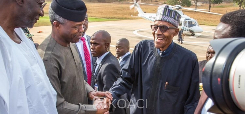Nigeria: Démenti d'une « guerre froide » entre Buhari et Osinbajo