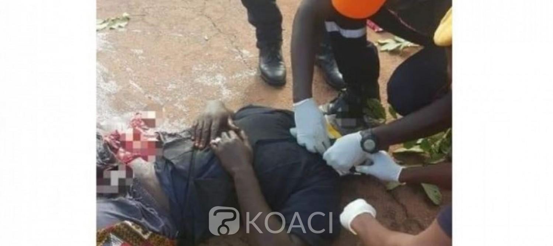 Côte d'Ivoire: Drame à Bouaflé, un camion de transport de ciment écrase un motocycliste