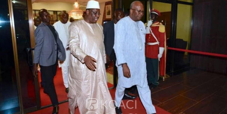 Burkina Faso: Le président Macky Sall exprime sa solidarité au peuple burkinabé, après l'attaque meurtrière de Boungou