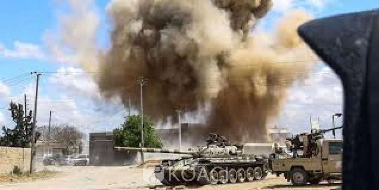 Libye: Au moins sept civils dont cinq étrangers tués dans un raid aérien à Tripoli