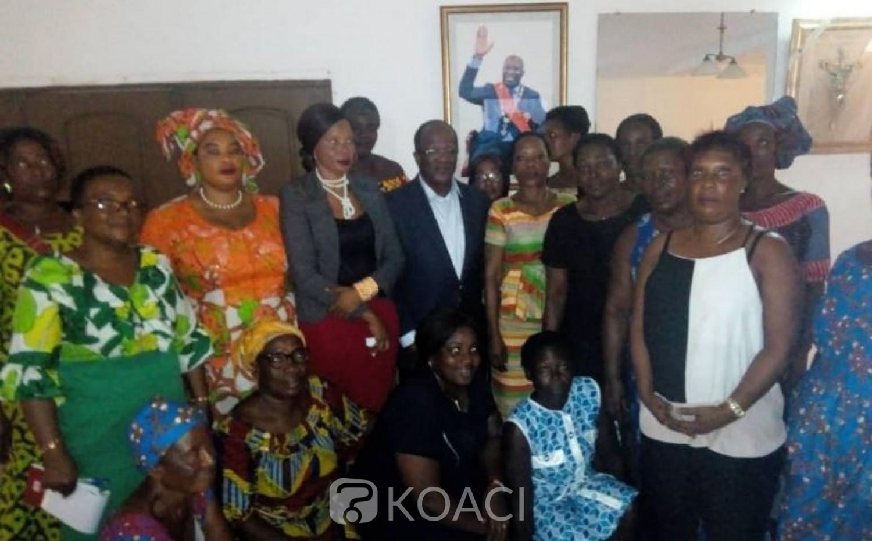 Côte d'Ivoire: 2020, Ouégnin aux femmes des espaces de libres échanges «Soyez rassurés parce que nous gagnerons toutes les élections sans coup férir»