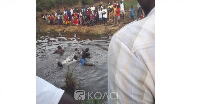Côte d'Ivoire: A Man découverte macabre, un enfant découvert noyé dans la rivière Koh