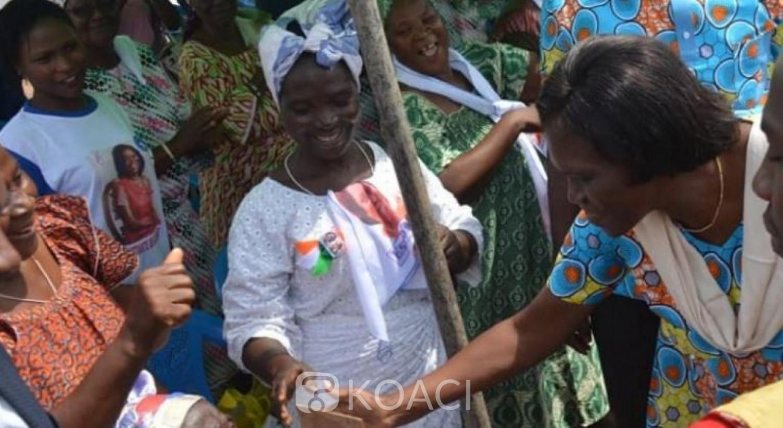 Côte d'Ivoire: Depuis Grand Lahou, Simone Gbagbo : « Bédié et Gbagbo se sont retrouvés pour mettre en place une couleur unique de notre pays »