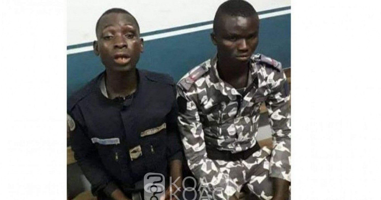 Côte d'Ivoire: A San-Pédro, ivres deux gendarmes se bagarrent devant la foule, l'un pointe son arme chargée sur l'autre