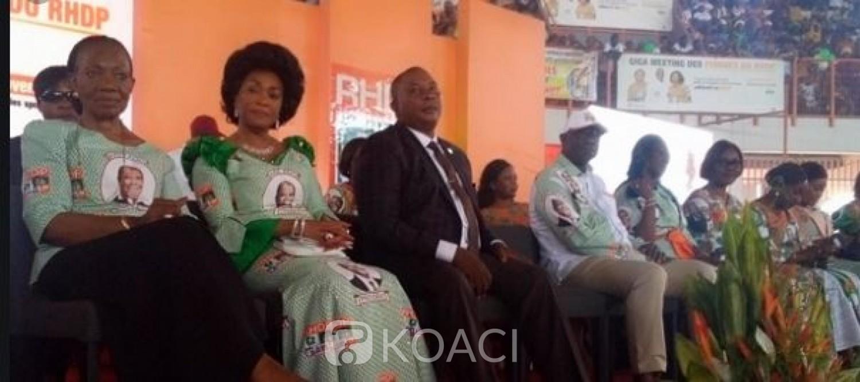 Côte d'Ivoire: Présidentielle 2020, pour les femmes du RHDP,  Alassane Ouattara est l'homme de la situation
