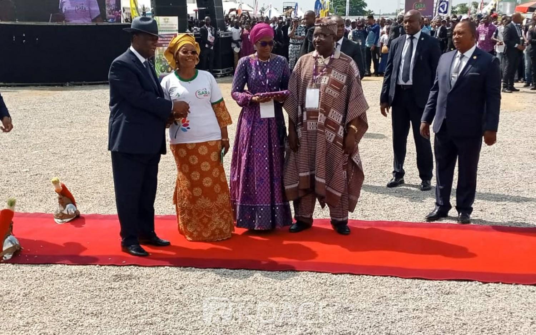 Côte d'Ivoire: SARA, remise de matériel agricole, Ouattara annonce le passage du pays à la phase de transformation des produits manufacturés