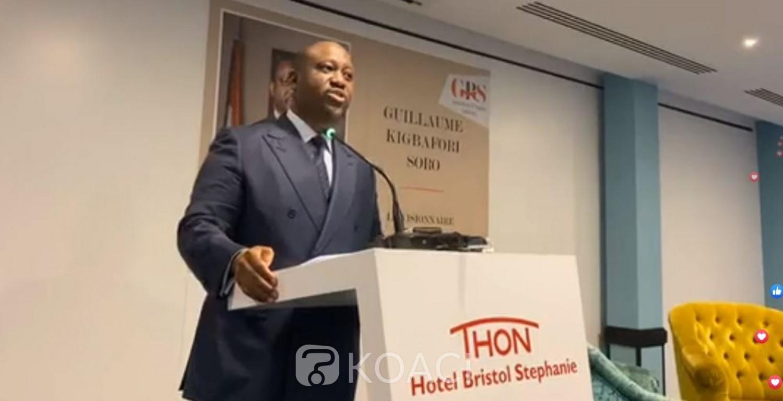 Côte d'Ivoire: En campagne devant des personnalités Belges, Soro fustige la CEI «monocolore mise en place qui risque de bruler le pays »