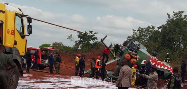 Côte d'Ivoire: Deux hélicoptères se heurtent en marge de la visite d'Etat dans le Hambol, 4 bléssés