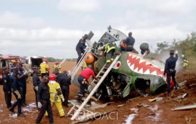 Côte d'Ivoire :   Choc entre un Mi-24 et un Mi-17 à l'aérodrome de Katiola, des Biélorusses au nombre des blessés, Sidi Touré affirme que les victimes sont toutes des ivoiriens