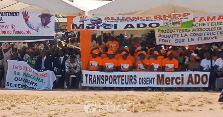 Côte d'Ivoire :  Niakara, le porte-parole des populations du département plaident pour plus d'investissements