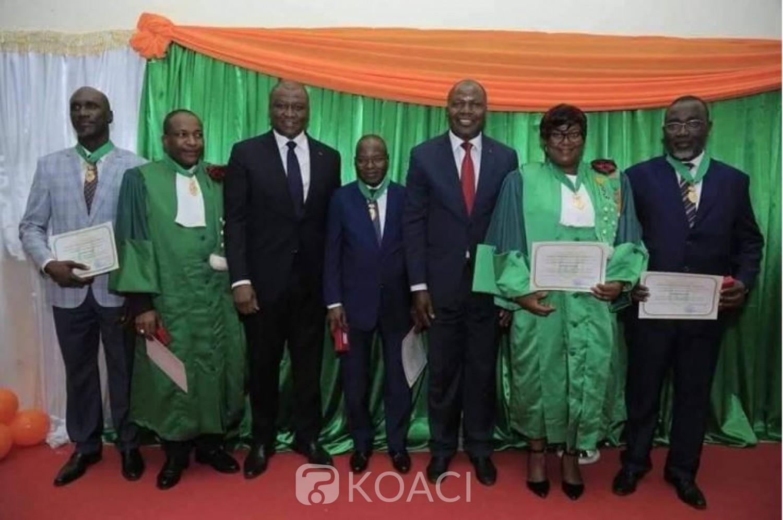 Côte d'Ivoire: Rentrée solennelle des universités publiques, 34 personnalités de l'enseignement supérieur décorées